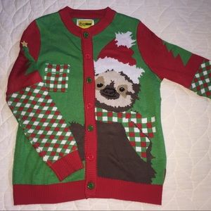 Tipsy Elves Sloth Christmas Sweater